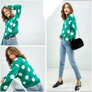 ASOS | Women's Polka Dot Oversized Sweater (US 22)